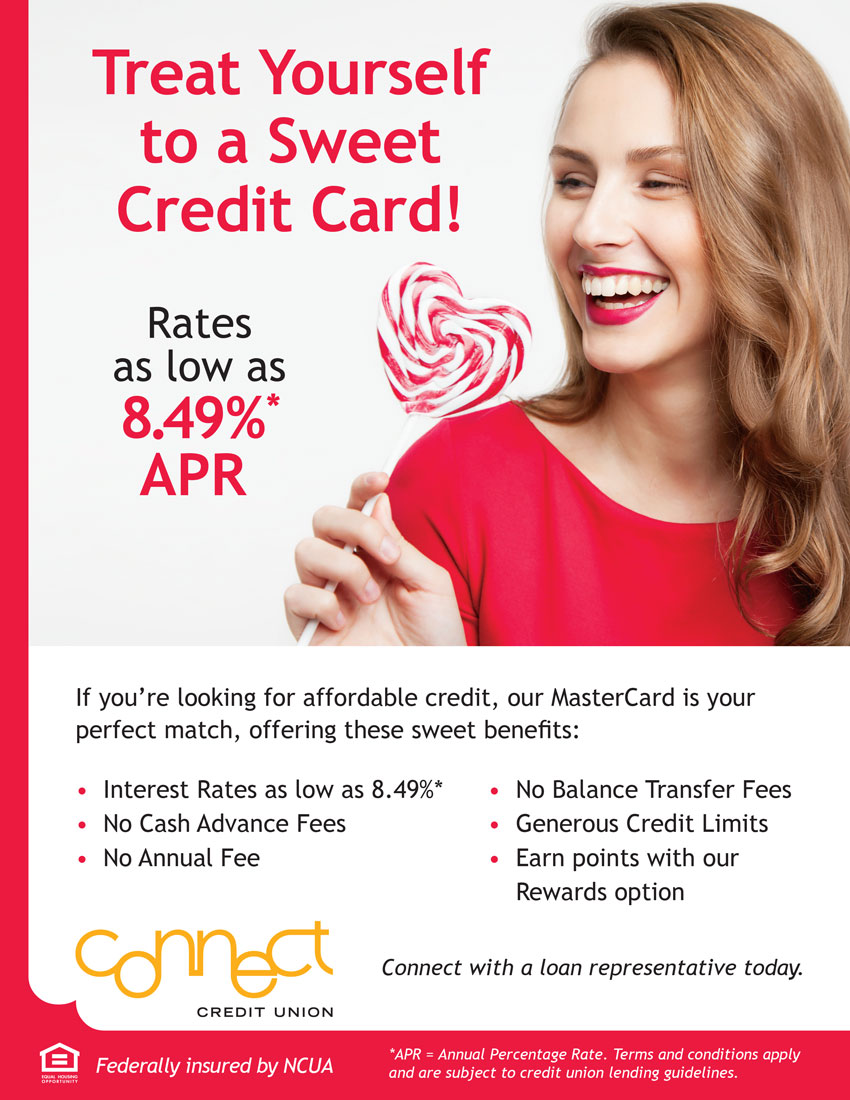 Treat yourself to a sweet credit card. Rates as low as 8.49% apr