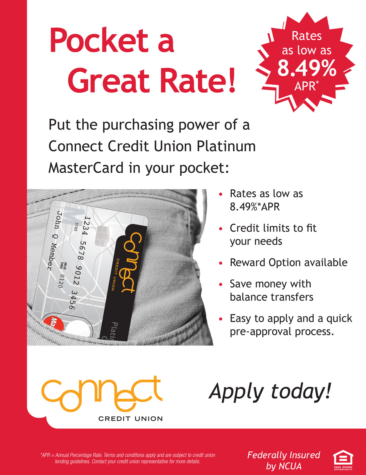 Pocket a Great Rate